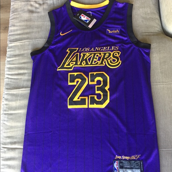 more photos aea23 c5a0b Lebron James City Edition Lakers Jersey NWT